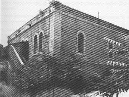 בניין האקדמיה והקונסרבטוריון הראשון ברחוב הלל