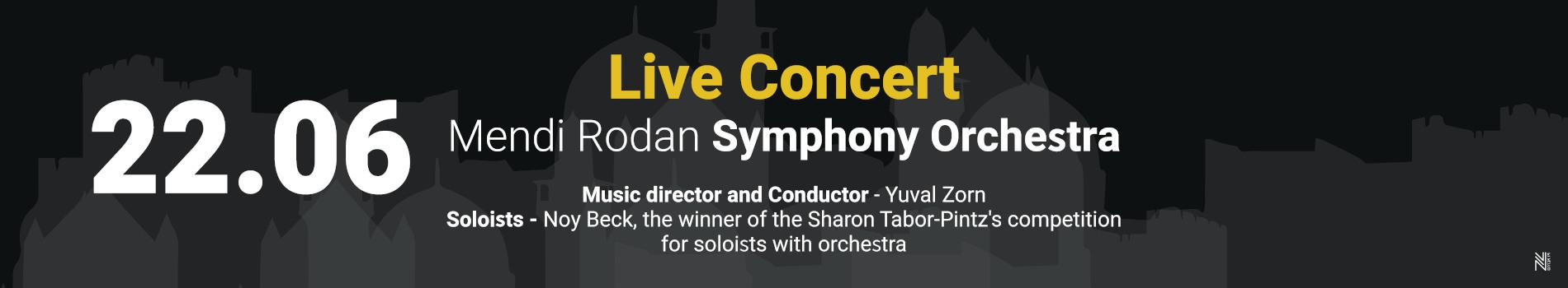 The Mendi Rodan Symphony Orchestra - Sharon Tabor Pintz 25th Memorial Concert