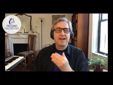 Rick Baitz Master Class Online at JAMD