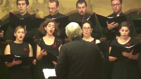 המקהלה הקאמרית בהונגריה - שירת החליל  Jamd Chamber Choir - Shirat Hekhalil