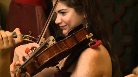 Taiseer Elias - Classical Arabic Music Ensemble: The Perlman Music Program in Jerusalem 2010
