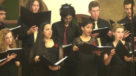 שיר עם הונגרי - המקהלה הקאמרית Jamd Chamber Choir - Hungarian Folksong